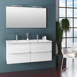 Erica 1210mm Wall Hung Single Vanity By Ebern Designs