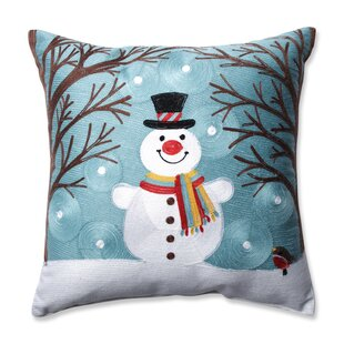 Winter Wonderland Frost Throw Pillow