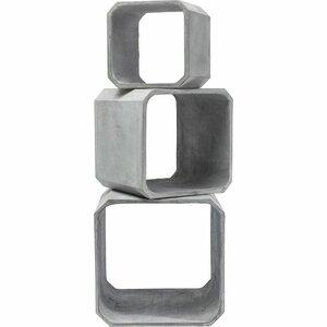 3-tlg. Satztisch-Set Cube von KARE Design