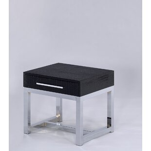 Emilia End Table By Orren Ellis