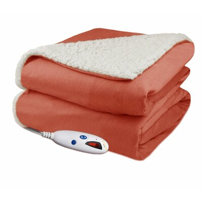 Biddeford Blanketselectric Heated Warming Throw Blanket Biddeford Blankets Color Caramel Dailymail
