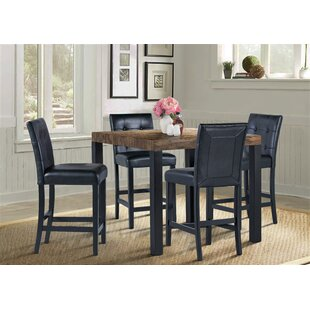 Sorrento 5 Piece Pub Table Set by Winston Porter