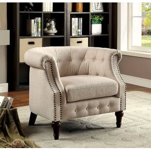 Keeler Chesterfield Chair by Alcott Hill