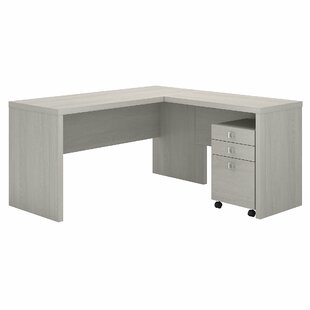 Echo 2 Piece L-Shaped Desk Set by Kathy Ireland Office Bush Reviews