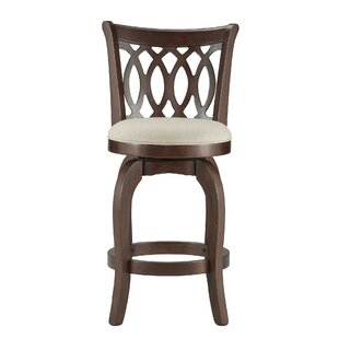 Leda 24 Swivel Bar Stool Andover Mills