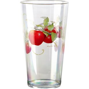 Harvest Apple Acrylic 19 oz. Ice Tea Glass (Set of 6)