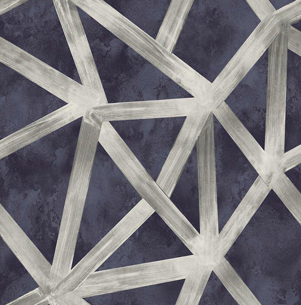 Orren Ellis Strawser 33 L X 20 W Geometric Wallpaper Roll Reviews Wayfair