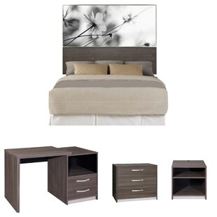 Asha Panel Configurable Bedroom Set by Interia Hospitality