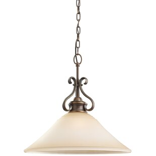 Culley 1-Light Cone Pendant by Darby Home Co