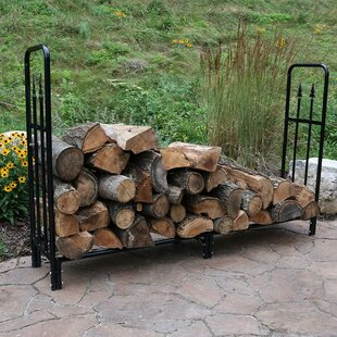 Maghull Decorative Firewood Log Rack By Fleur De Lis Living