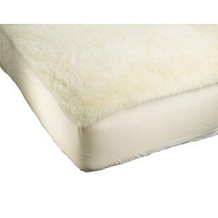 Alwyn Home Denali Supreme Wool Mattress Pad