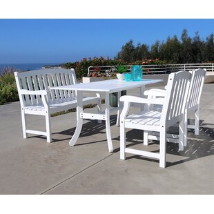 Drowne 4 Piece Dining Set by Darby Home Co