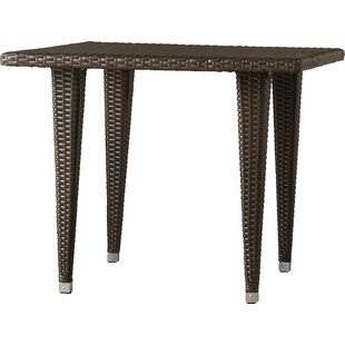 Weishaar Outdoor Wicker Dining Table