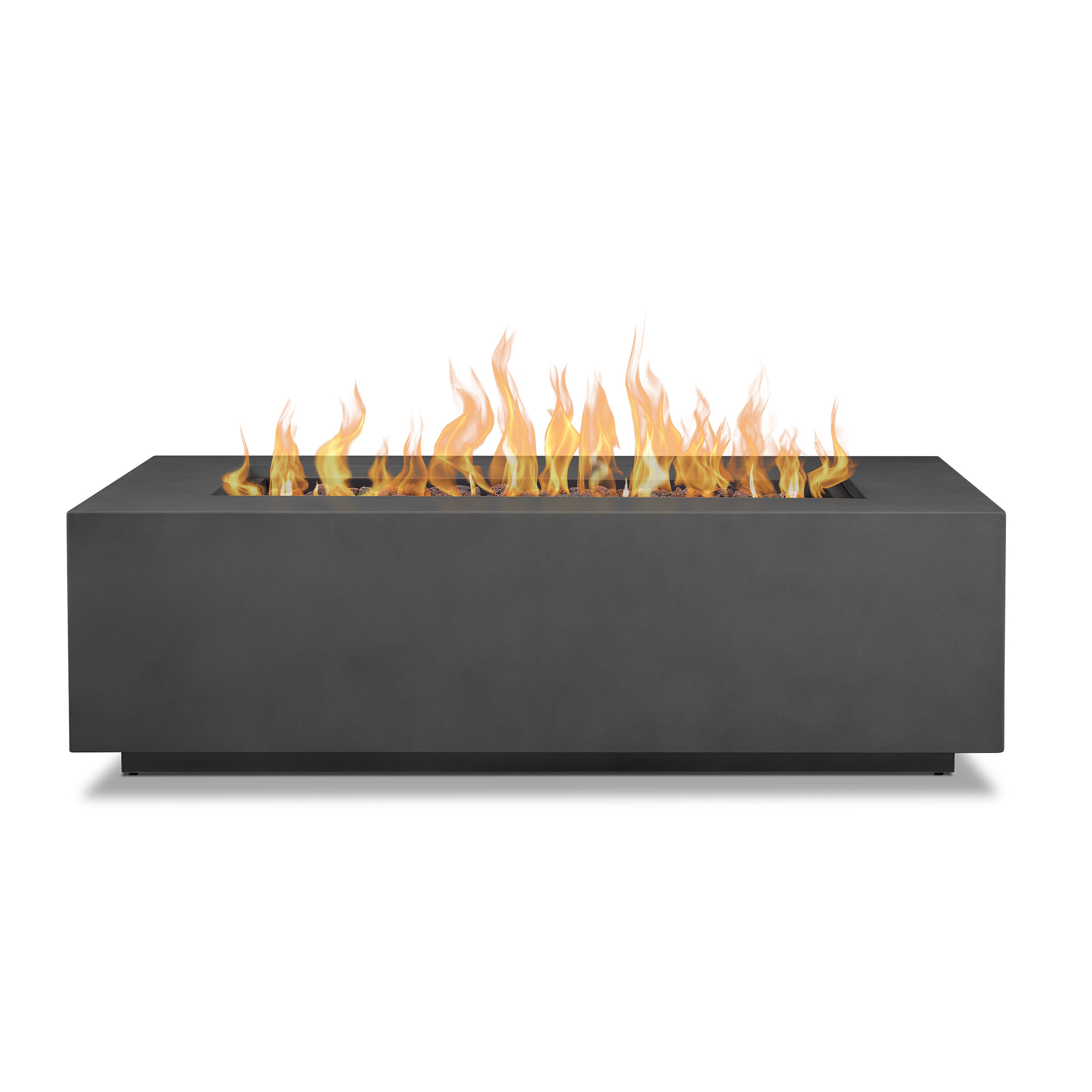 Real Flame Aegean Steel Propane Natural Gas Fire Pit Table Reviews Wayfair