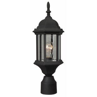 Compare Oakhill 1-Light Post Lantern By Charlton Home