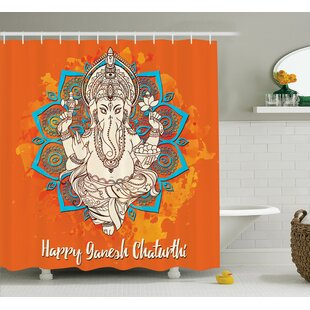 Beldin Indian Religion Ceremony Single Shower Curtain