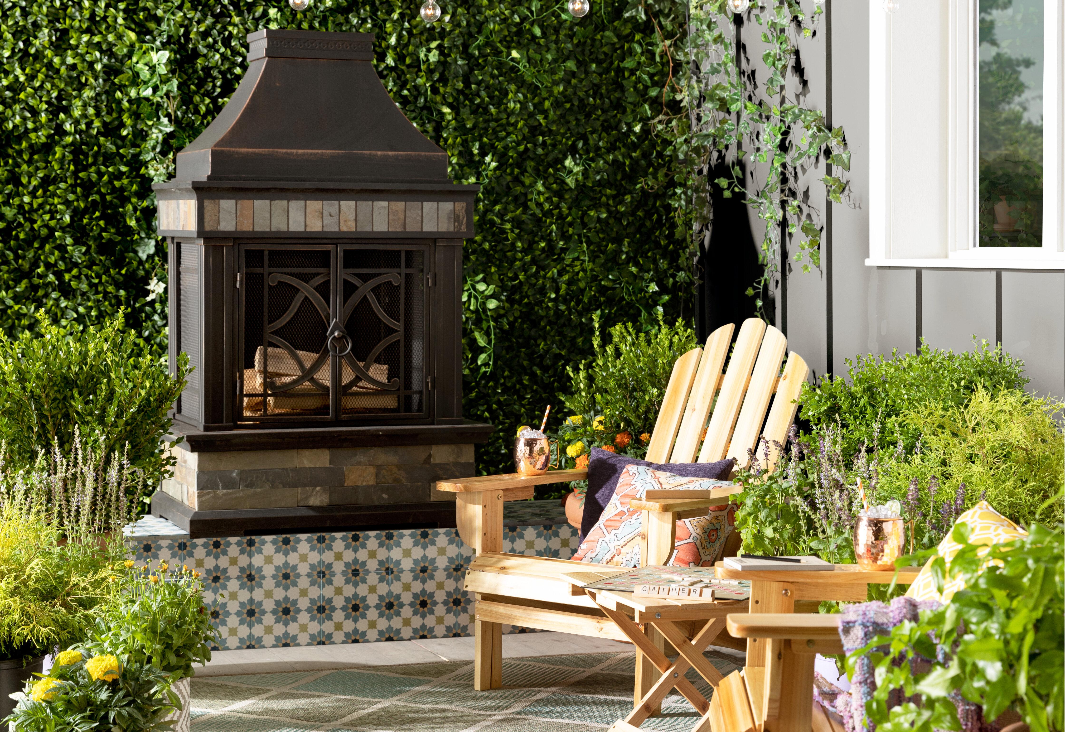9 Outdoor Fireplace Designs Ideas Wayfair