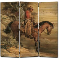 68 x 68 Long Road Home 3 Panel Room Divider by WGI-GALLERY