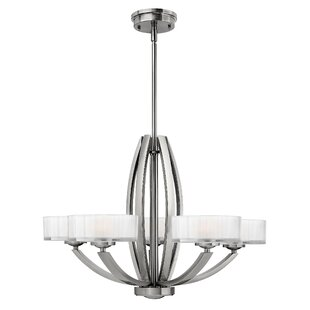 Latitude Run Lutz 5-Light Shaded Chandelier