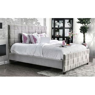 Cho Upholstered Panel Bed