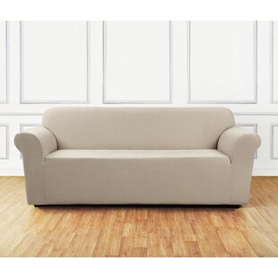 Sure Fit Ultimate Stretch Chenille Box Cushion Sofa Slipcover