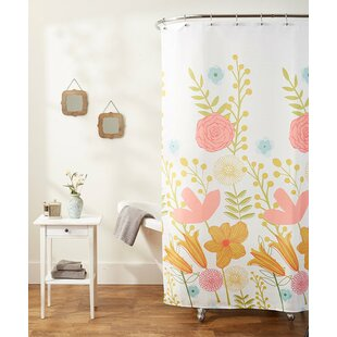 Elegant Touch Single Shower Curtain