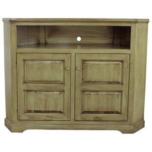 Inouye Solid Wood Corner TV Stand For TVs Up To 65