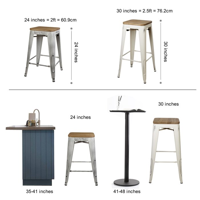 Stupendous Warwickshire Tolix 24 Bar Stool Pabps2019 Chair Design Images Pabps2019Com