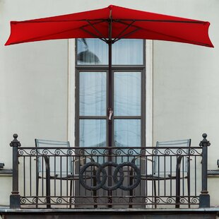 Half Round 9' Market Umbrella
