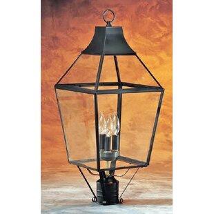 3-Light Post Lantern Head by Brass Traditions