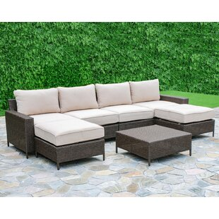 Sharon 6 Piece Sectional Set with Cushions