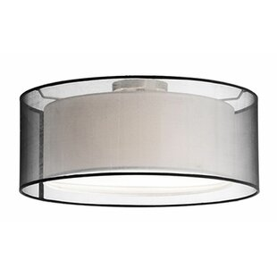 Radionic Hi Tech Hailey 3-Light Semi Flush Mount