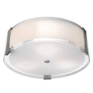 Check Prices Pastrana 1-Light Outdoor Flush Mount By Latitude Run