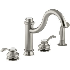 Kohler Fairfax 4-Hole Kitchen Sink Faucet with 9-3/8