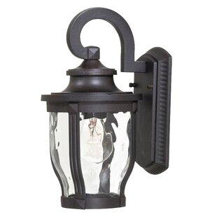 Three Posts Porterfield 1-Light Outdoor Wall Lantern