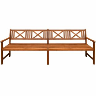 Volney Wooden Bench By Sol 72 Outdoor