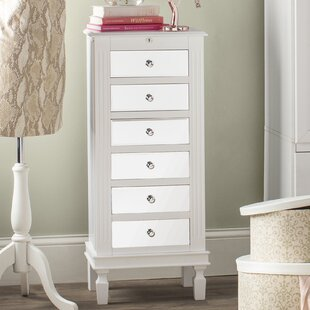 Rosdorf Park Brierfield Jewelry Armoire