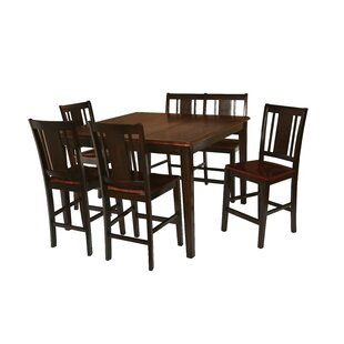 Dacosta Counter Height Solid Wood Dining Table