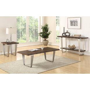 Gomez 3 Piece Coffee Table Set
