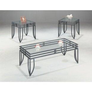Ebern Designs Rosengard 3 Piece Coffee Table Set