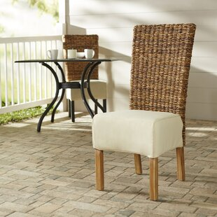 Isabela Teak Patio Dining Chair with Cushion By Highland Dunes