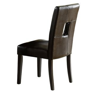 Myhre Upholstered Dining Chair (Set of 2) by Latitude Run