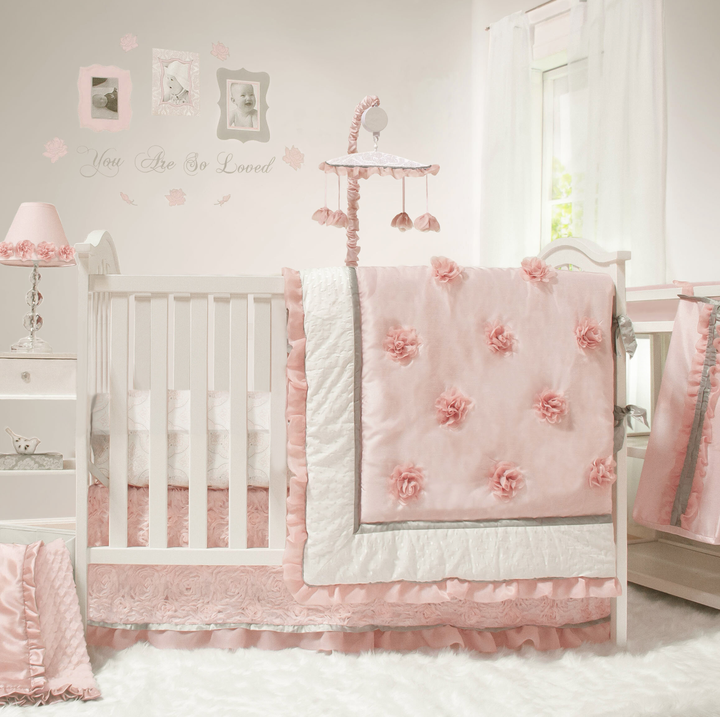 Harriet Bee Mcadoo 4 Piece Crib Bedding