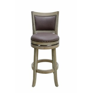 Price comparison Edwina 29 Swivel Bar Stool by Darby Home Co Reviews (2019) & Buyer's Guide