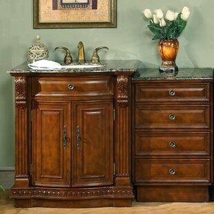 Topaz 53 Single Bathroom Vanity Set by Astoria Grand