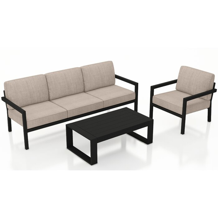 Astonishing Iliana 3 Piece Sofa With Sunbrella Cushions Andrewgaddart Wooden Chair Designs For Living Room Andrewgaddartcom