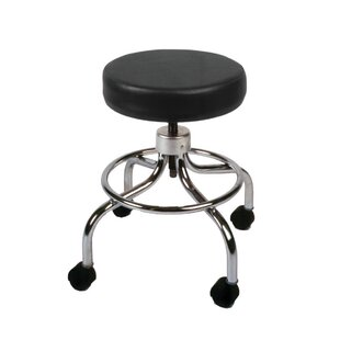 Adjustable Height Mechanical Mobile Stool by Fabrication Enterprises