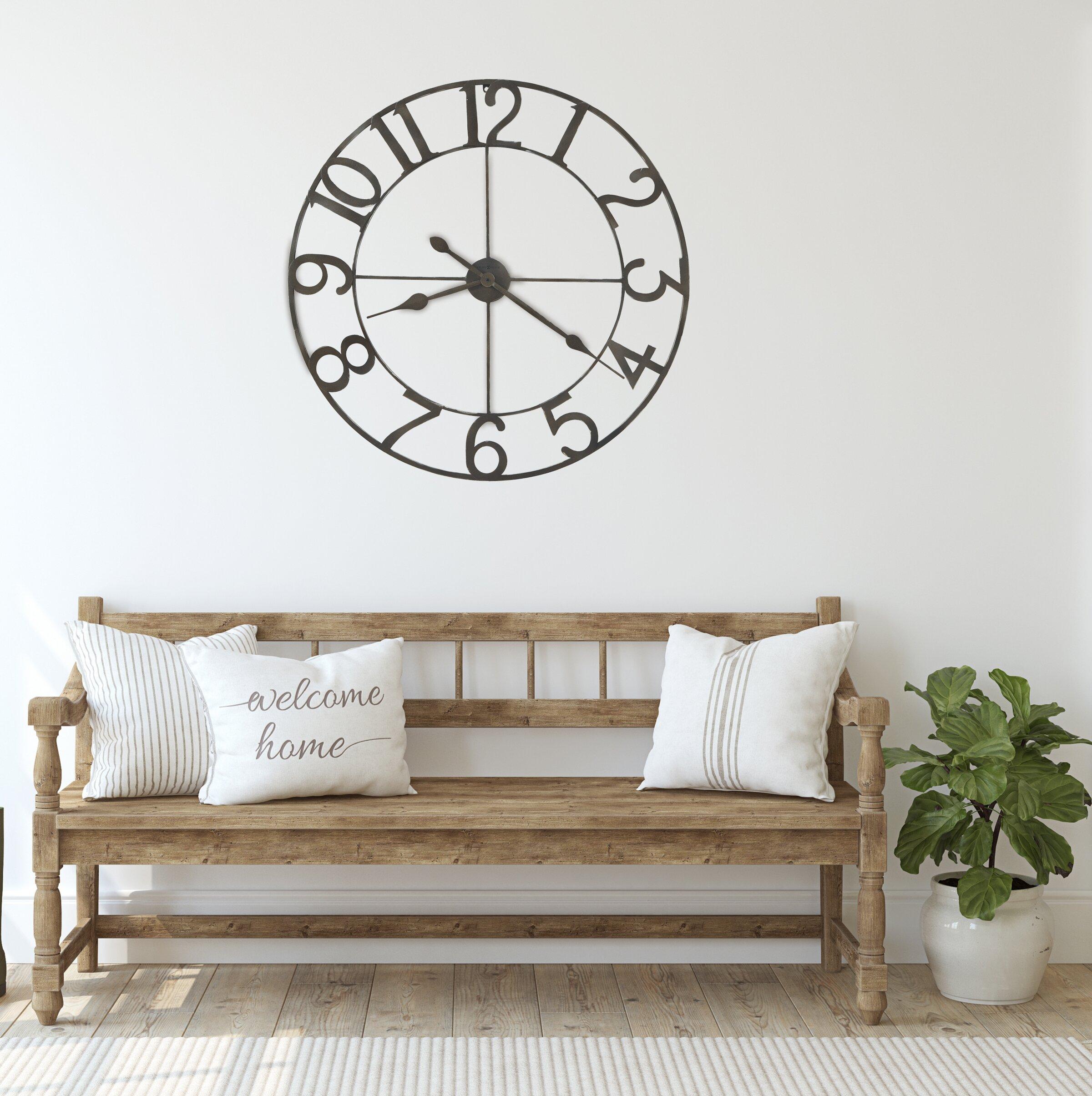 Howard Miller Oversized Artwell 36 Wall Clock Reviews Wayfair