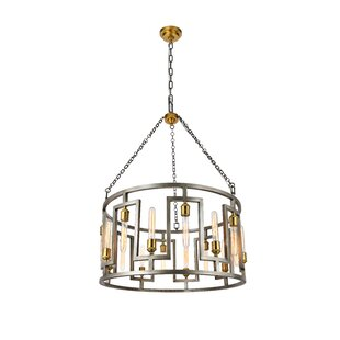 Brayden Studio Wellsville 16-Light Lantern Chandelier