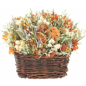 Mixed Centerpiece in Basket